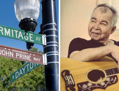Folk Legend John Prine Gets Honorary Street Sign In Lincoln Park